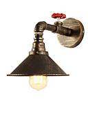 povoljno Muške košulje-vintage industrijske cijevi zidne svjetiljke metalni nijansa restoran kafe bar zidni ogrtači 1-light oslikana završiti