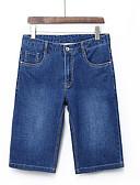 ieftine Pantaloni Bărbați si Pantaloni Scurți-Bărbați Șic Stradă Blugi Pantaloni Mată