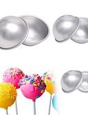 preiswerte Damenmäntel und Trenchcoats-Backwerkzeuge Aluminium Multi-Funktion / 3D / Heimwerken Für Eiscreme / Knospung Kreisförmig Kuchenformen 6pcs