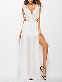 povoljno Maxi haljine-Žene Izlasci Korice Haljina V izrez Maxi