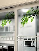 billige Herreskjorter-Vinduespil og klistermærker Dekoration Matte / Moderne Blomst PVC Vinduessticker / Mat