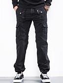 abordables Pantalones y Shorts de Hombre-Hombre Delgado Pantalones tipo cargo Pantalones - Un Color