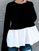 povoljno Majica s rukavima-Majica Žene - Aktivan / Osnovni Dnevno / Izlasci Color block