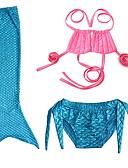 povoljno Donje rublje i čarape za djevojčice-Dijete koje je tek prohodalo Djevojčice Jednobojni Kupaći kostim