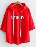 preiswerte Damen Kapuzenpullover & Sweatshirts-Hoodie mit langen Ärmeln für Frauen - Brief mit Kapuze