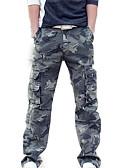 ieftine Jachete & Paltoane Bărbați-Bărbați Șic Stradă Pantaloni Chinos Pantaloni - camuflaj Trifoi