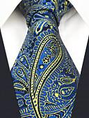tanie Męskie czapki-Męskie Impreza / Praca Krawat - Jedwab wiskozowy, Kolorowy blok / W Tureckie Wzory / Żakard / Poszetki / Tkanina / Na każdy sezon