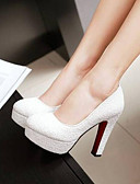 povoljno Sakoi-Žene Cipele na petu Kockasta potpetica Zatvorena Toe PU Udobne cipele Ljeto Obala / Plava / Pink / Dnevno / EU41