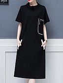 ieftine Fuste de Damă-Pentru femei De Bază Pantaloni - Mată Negru
