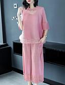 ieftine Bluză-Pentru femei Activ / De Bază Bluză - Mată, Pantaloni