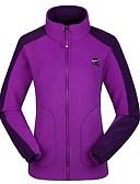 cheap Women's Coats & Trench Coats-Women's Hiking Fleece Jacket Outdoor Breathability, Stretchy, Softness Winter Fleece Jacket Single Slider Camping / Hiking / Everyday Use / Traveling