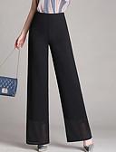 tanie Damskie spodnie-Damskie Puszysta Szczupła Typu Chino Spodnie Solidne kolory / Wyjściowe