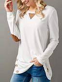ieftine Tricou-Pentru femei Tricou Șic Stradă - Mată