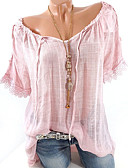 povoljno Ženski jednodijelni kostimi-Majica s rukavima Žene Dnevno Jednobojni