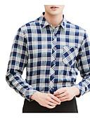 povoljno Muške košulje-Majica Muškarci Dnevno Prugasti uzorak