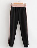 tanie Damskie spodnie-Damskie Podstawowy Typu Chino Spodnie Kolorowy blok
