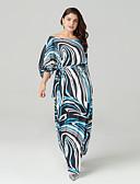 cheap Women's Dresses-Sweet Curve women's going out / beach slim swing dress maxi