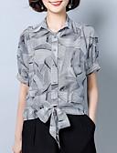 ieftine Bluze de Damă-Pentru femei Guler Cămașă Cămașă Muncă Geometric
