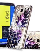 halpa Telineet ja jalustat-Etui Käyttötarkoitus Samsung Galaxy J7 (2017) / J6 / J5 (2017) Kuvio Takakuori Hedelmä Pehmeä TPU