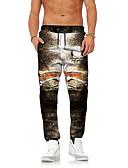 ieftine Pantaloni Bărbați si Pantaloni Scurți-Bărbați Șic Stradă / Exagerat Pantaloni Chinos / Pantaloni Sport Pantaloni Bloc Culoare