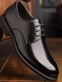 olcso Férfi nyakkendők és csokornyakkendők-Férfi Bőr Tavasz & Ősz Kényelmes Félcipők Fekete