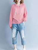 ieftine Bluze & Camisole Femei-Pentru femei Tricou De Bază - Dungi