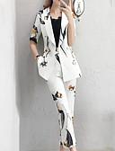 billige Tights-Dame Gatemote / Sofistikert Sett Bukse Ruter