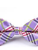 abordables Cravates & Noeuds Papillons pour Homme-Homme Soirée / Basique Noeud Papillon - Noeud, Rayé / Couleur Pleine