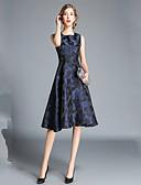preiswerte Damen Kleider-Damen Elegant A-Linie Kleid - Druck Knielang
