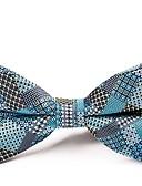 abordables Cravates & Noeuds Papillons pour Homme-Homme Soirée / Basique Noeud Papillon - Noeud, Imprimé / Couleur Pleine