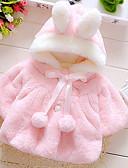 povoljno Džemperi i kardigani za bebe-Dijete koje je tek prohodalo Djevojčice Ulični šik Jednobojni Dugih rukava Pamuk Jakna i kaput Blushing Pink