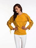ieftine Tricou-Pentru femei Tricou / Cămașă De Bază - Mată