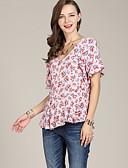 ieftine Rochii de Damă-Pentru femei Bluză Activ - Floral