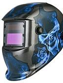 baratos Smartwatches-1pç PP ABS Máscara de solda soldagem / Escurecimento automático / Segurança Máscaras Faciais