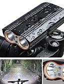billige Eksotisk herreundertøj-Forlygte til cykel LED Cykellys Cykling Vandtæt, Bærbar, Hurtig Frigivelse 2000 lm Genopladeligt Batteri Camping / Vandring / Grotte Udforskning / Cykling