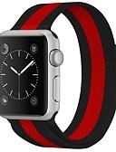 billige T-skjorter og singleter til herrer-Rustfritt stål Klokkerem Strap til Apple Watch Series 3 / 2 / 1 Svart 23cm / 9 tommer 2.1cm / 0.83 Tommer