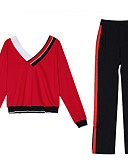 economico Completi due pezzi da donna-Per donna Set Monocolore Pantalone