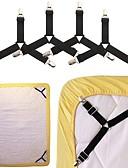 hesapli Cep Telefonu Kılıfları-4 adet çarşaf jartiyer kanepe örtüsü tutucu yatak keten kayma tutma klip jartiyer gömlek parantez elastik kalmak