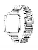 halpa Smartwatch-nauhat-Watch Band varten Fitbit Blaze Fitbit Urheiluhihna / Korudesign Ruostumaton teräs / Keraaminen Rannehihna