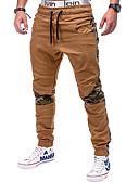 abordables Relojes Deportivo-Hombre Básico Chinos Pantalones - Un Color