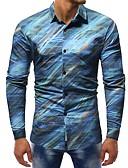 ieftine Tricou Bărbați-Bărbați Cămașă De Bază - Bloc Culoare Imprimeu