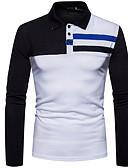 povoljno Muške majice i potkošulje-Majica s rukavima Muškarci - Osnovni Dnevno Color block