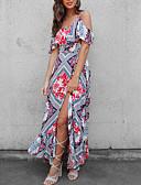 povoljno Ženske haljine-Žene Korice Haljina Cvjetni print Maxi