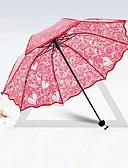 preiswerte Hochzeitsschirme-Post-Handle Hochzeit / Alltag Regenschirm Einzigartiges Hochzeits-Dekor ca.80cm