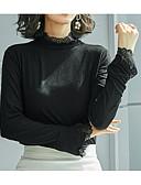 ieftine Tricou-Pentru femei Stil Nautic Tricou Ieșire Mată / Zvelt