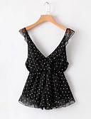 זול חולצה-V עמוק מנוקד - Rompers ליציאה בגדי ריקוד נשים