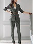 ieftine Cămașă-Pentru femei De Bază Cămașă - Mată, Pantaloni Cu Șiret