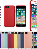 abordables Ropa Interior y Calcetines de Hombre-funda para apple iphone xr xs xs cubierta trasera a prueba de golpes silicona sólida de color sólido para iphone x 8 8 plus 7 7plus 6s 6s plus se 5 5s