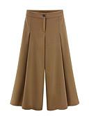 זול הלבשה תחתונה אופנתית-בגדי ריקוד נשים סגנון רחוב רגל רחבה מכנסיים אחיד