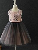 preiswerte Kleider für Mädchen-Kinder Baby Mädchen Süß Solide Kurzarm Kleid Grün